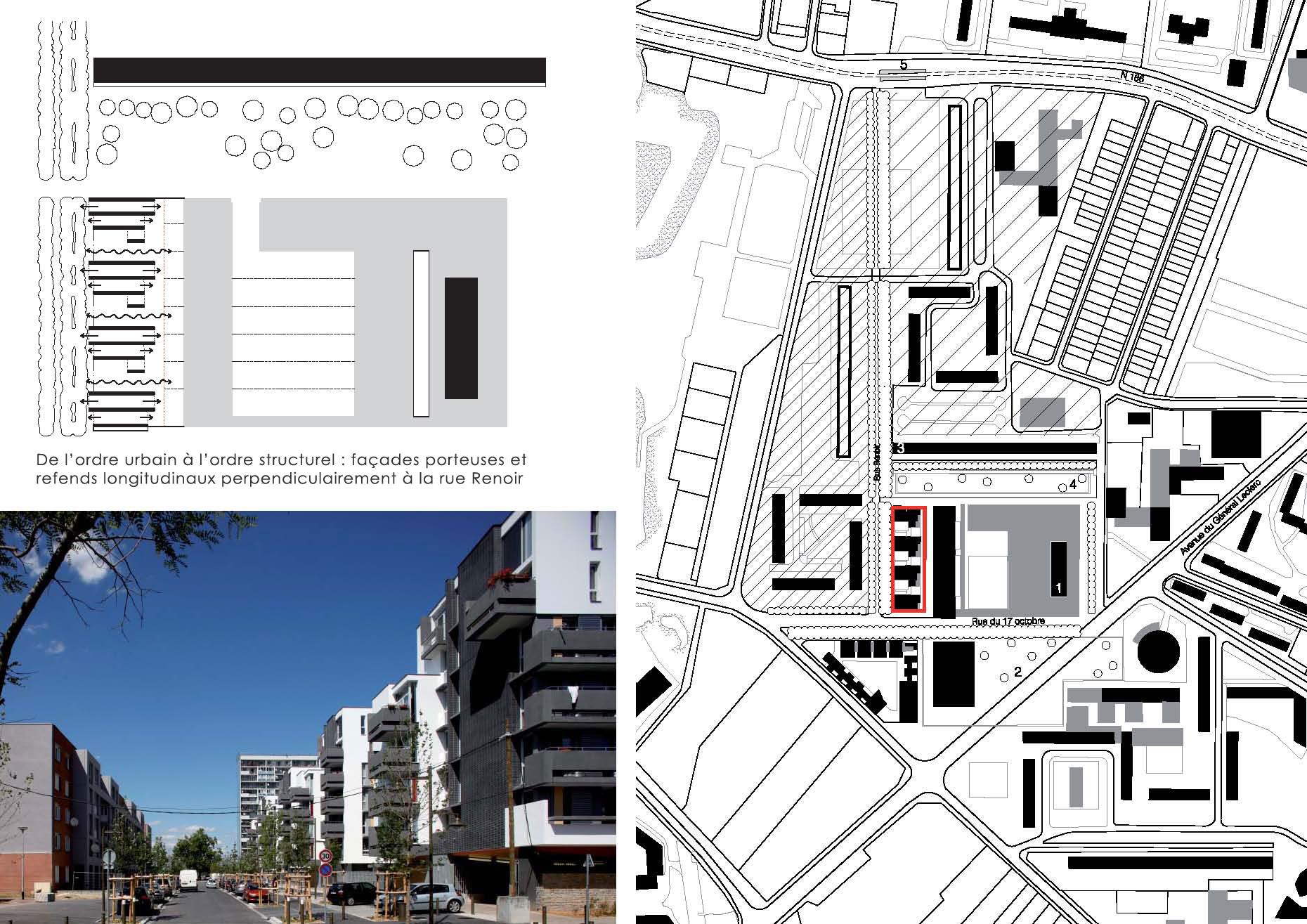 Une Typologie d'immeubles à cours ouvertes