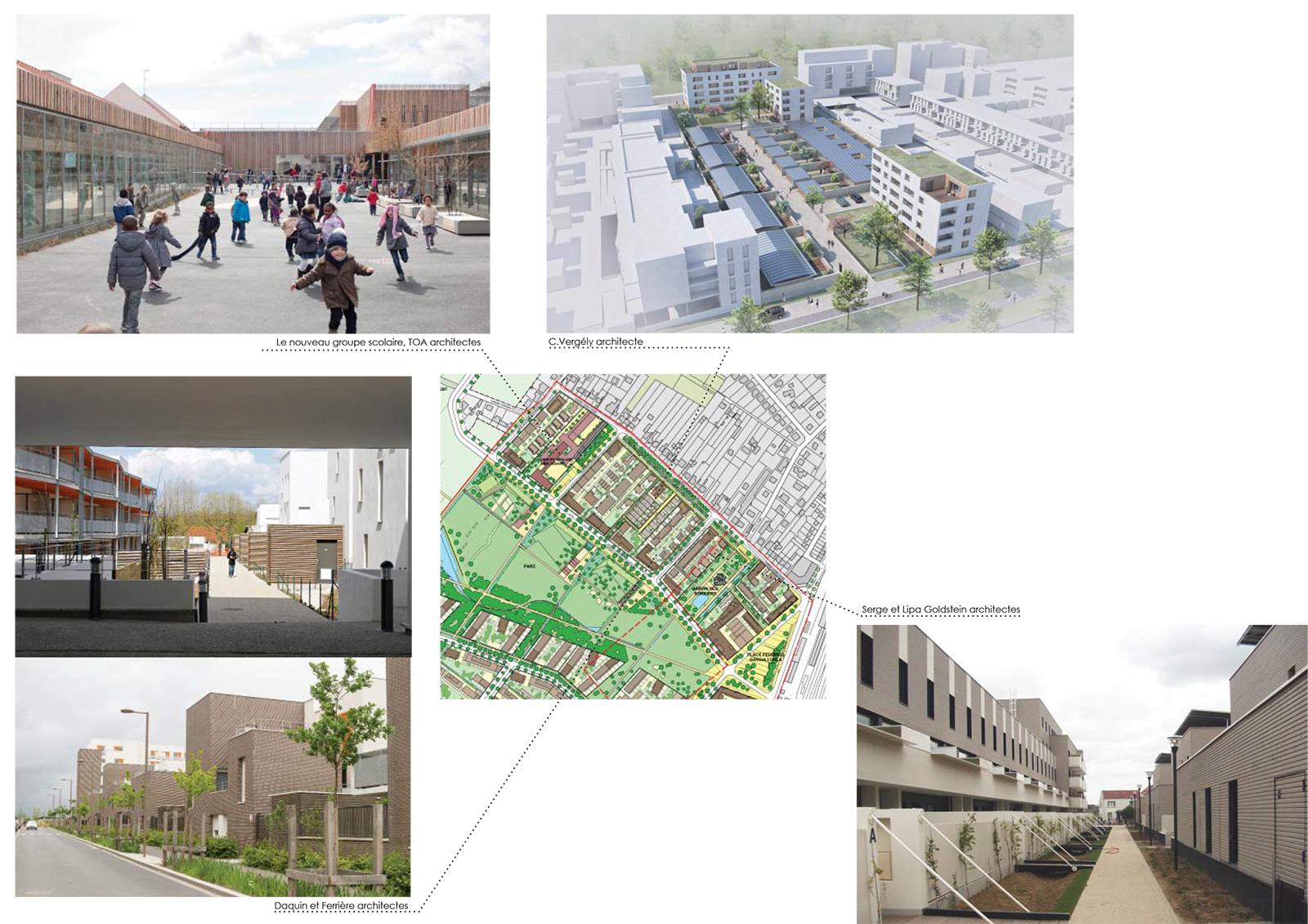Les « Villas urbaine du Mesnil », programmes réalisés ou en cours