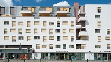 Rennes - 43 logements  sur la station J. Cartier