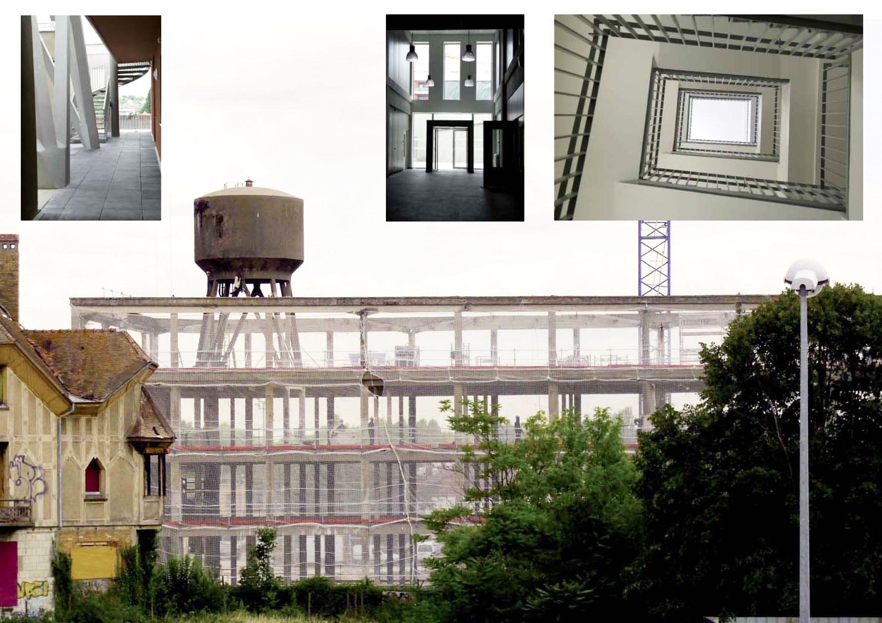 Usine Clause - Ancien bâtiment des machines