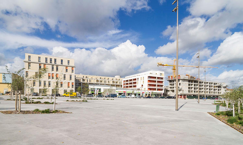 Opérations logements de l'atelier JAM - Place Garcia Lorca