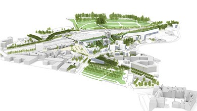 Blois - Projet urbain, secteur gare