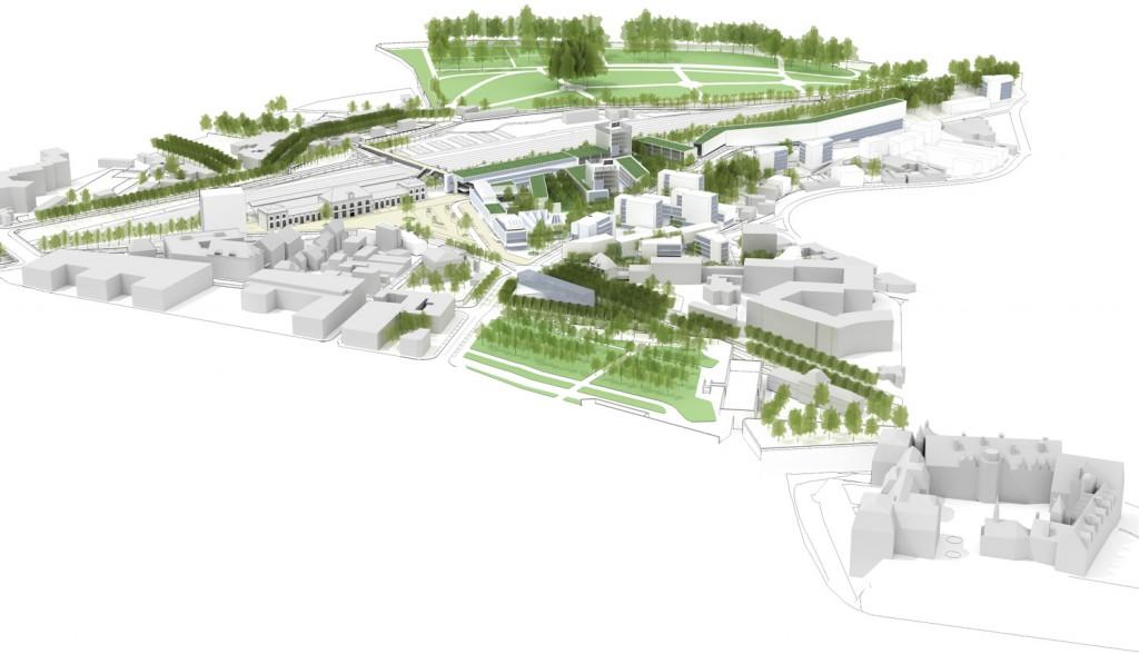 Blois projet urbain secteur gare germe jam for Projet architectural definition