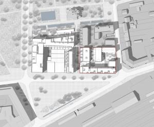 Logements Atelier JAM à Brétigny - Plan masse