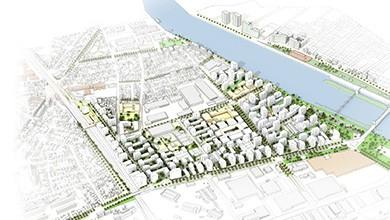 Vitry-sur-Seine - Projet urbain, Seine Gare