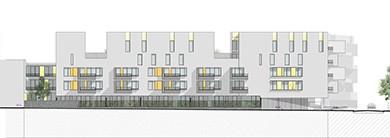 Stains – Les terrasses, concours 54 logements sociaux