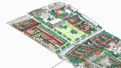 """Lille - Projet urbain, """"Les Rives de la Haute-Deûle"""""""