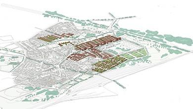 Nantes - Composition urbaine, secteur les Gohards